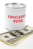 Education fund. Concept of saving for college Stock Images