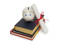 Education fund, concept of saving for college Stock Photo