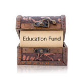 Education fund word. Stock Image