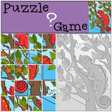 Education games for kids. Puzzle. Stock Image