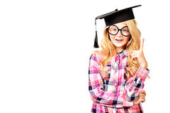 Education girl Stock Image