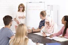 Education in global society Stock Photo