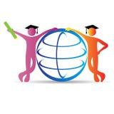 Education globe Royalty Free Stock Photography