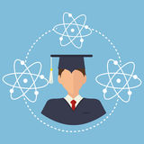 Education, graduation and academic trainning Royalty Free Stock Image