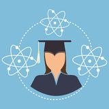 Education, graduation and academic trainning Stock Images