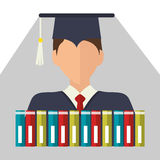 Education, graduation and academic trainning Royalty Free Stock Photo
