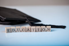 Education and graduation Royalty Free Stock Image