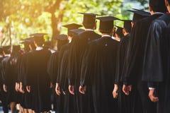Education graduation in university theme concept. Education background stock photography