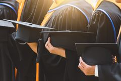 Education graduation in university theme concept. Education background royalty free stock images