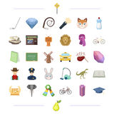 Education, history, travel and other web icon in cartoon style.national, security, service icons in set collection. Royalty Free Stock Image