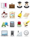 Education Icon Stock Photo