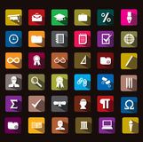 Education icon. This icon is really cool pls download, :D Stock Photo