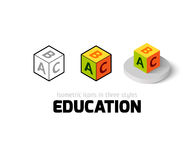 Education icon in different style Stock Photo