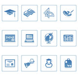 Education icon II Royalty Free Stock Photography