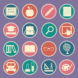 Education icon vector illustration