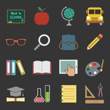 Education icon stock illustration