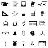 Education icon set. The education of icon set Stock Image