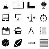Education icon set. The education of icon set Stock Photo