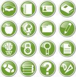 Education icon set. Education school icon set Stock Photos