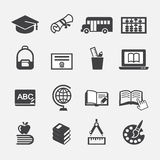 Education icon. Web icon symbol design illustrator Stock Photography