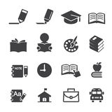Education icon. Web icon symbol design illustrator Royalty Free Stock Photography