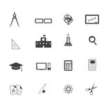 Education Icon. On white background stock illustration