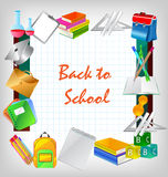 Education icons Royalty Free Stock Image