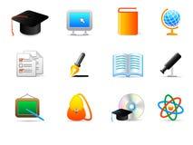 Education icons vector illustration