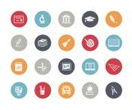 Education Icons // Classics Royalty Free Stock Photo
