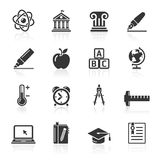 Education Icons set. Royalty Free Stock Photo