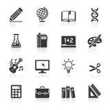 Education Icons set. Royalty Free Stock Image