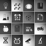 Education Icons Set Vol 2 Stock Photography