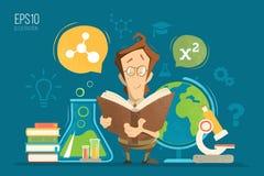 Education illustration Royalty Free Stock Images