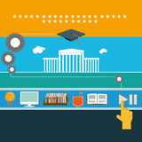 Education info  art Stock Images