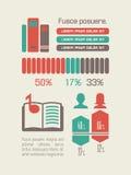 Education Infographic Element Stock Image