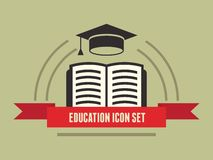Education Infographic Element Stock Photo