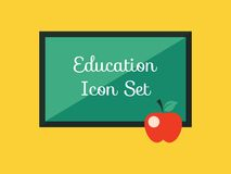 Education Infographic Element Royalty Free Stock Photography