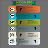 Education infographic set. Vector. Illustration Stock Photo