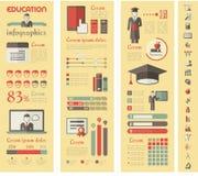 Education Infographics. Royalty Free Stock Photo