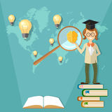 Education, international training student, teacher Royalty Free Stock Photography