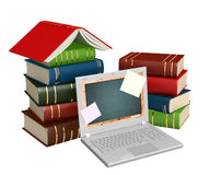 Education through the Internet Royalty Free Stock Photo