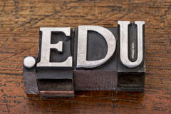 Education internet  domain Stock Photography