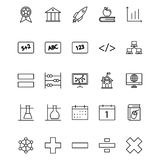 Education Isolated Vector icon that can be easily edit or modified. royalty free illustration