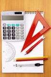 Education items Royalty Free Stock Photos