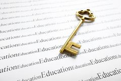 Education and key Stock Photos