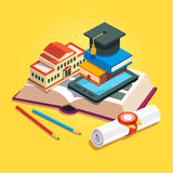 Education and knowledge concept Royalty Free Stock Photography