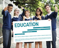 Education Knowledge Learning Experience Concept Royalty Free Stock Images