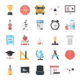 Education and Knowledge. Modern flat vector illustration of education and knowledge icon design concept. Icon for mobile and web graphics. Flat symbol, logo vector illustration
