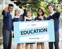 Education Knowledge Skills Learning Concept royalty free stock image