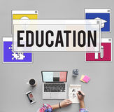 Education Knowledge Studying Learning Intelligence Concept Royalty Free Stock Photography